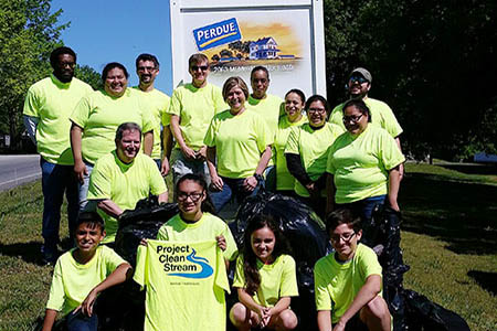 Perdue Volunteers Remove 40 000 Pounds Of Trash From Communities