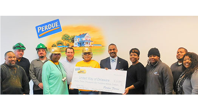 Milford Associates Contribute 33 690 To United Way Of Delaware
